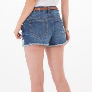 Others Follow Shorts - Denim shorts with stars